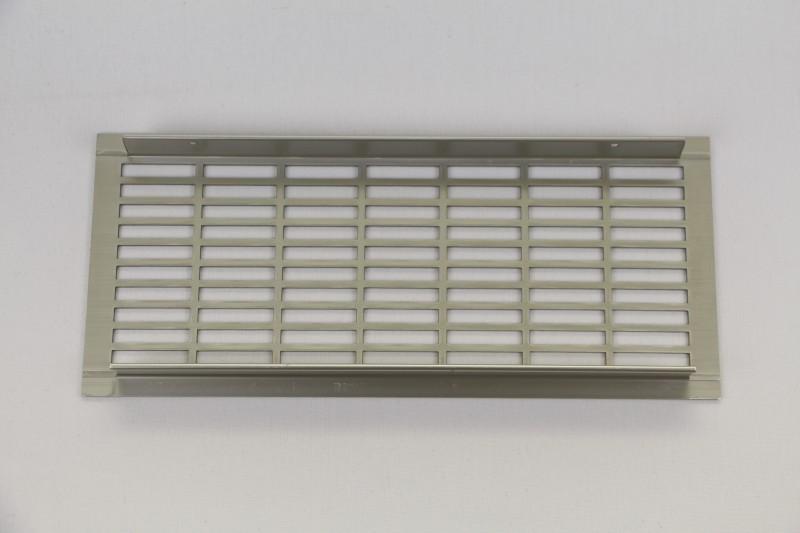 l ftungsgitter lochblech aluminium 250x110 edelstahl optik. Black Bedroom Furniture Sets. Home Design Ideas