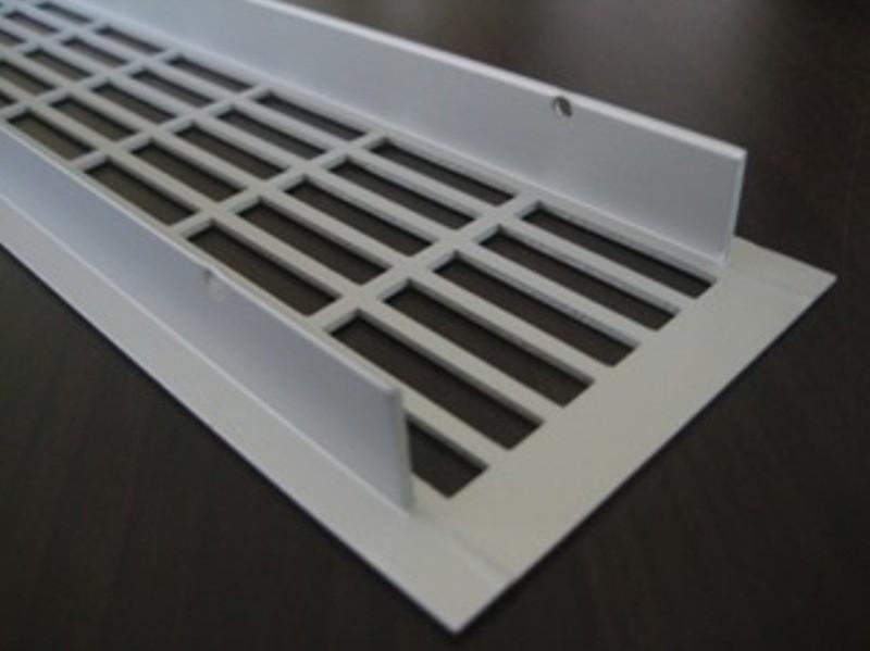 l ftungsgitter lochblech aluminium silber 500 x 70 mm. Black Bedroom Furniture Sets. Home Design Ideas
